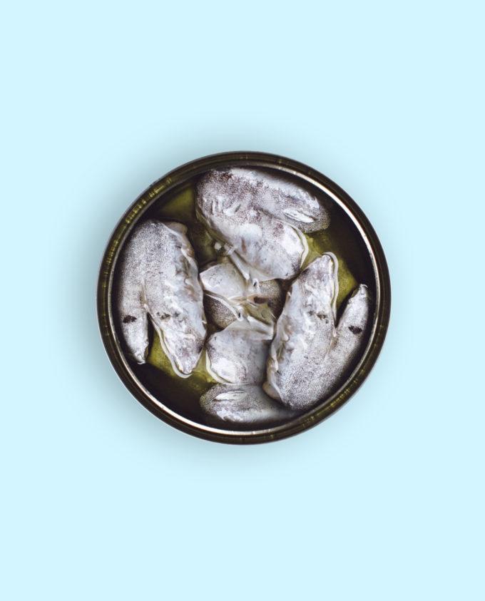 Cocochas de merluza en aceite de oliva Canthynnus