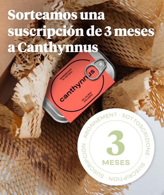 Sorteo 3 Meses Canthynnus